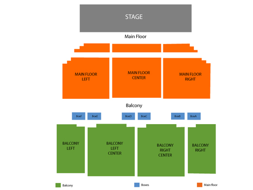 Paramount Theatre - IL Seating Chart