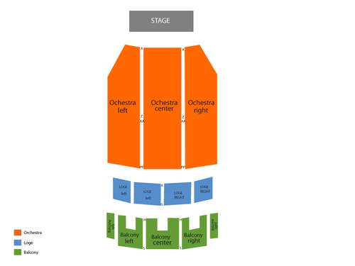 Anne Lamott Venue Map