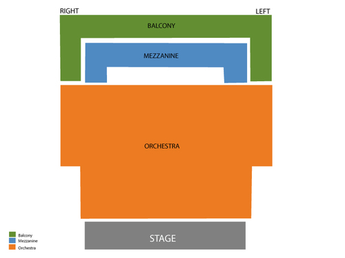 Jaeb Theater at Straz Center Seating Chart