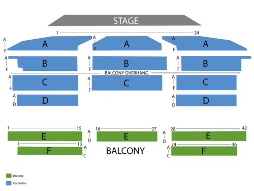 Royal oak music theatre seating chart events in royal oak mi