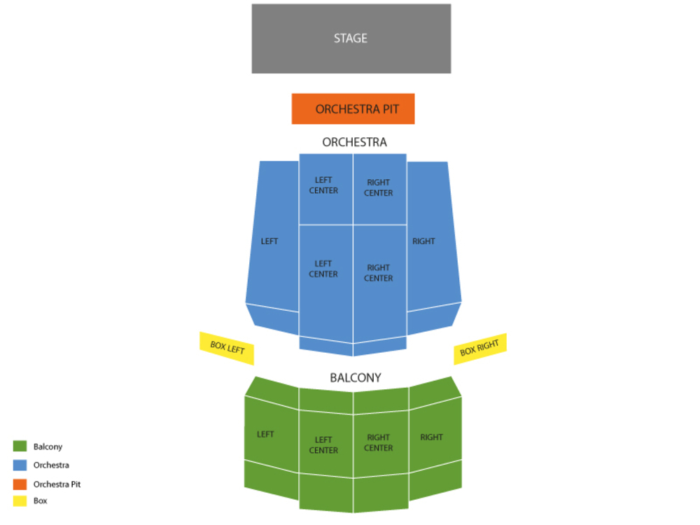 Terry Fator Venue Map