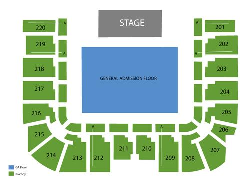 Roy Wilkins Auditorium at St Paul RiverCentre Seating Chart
