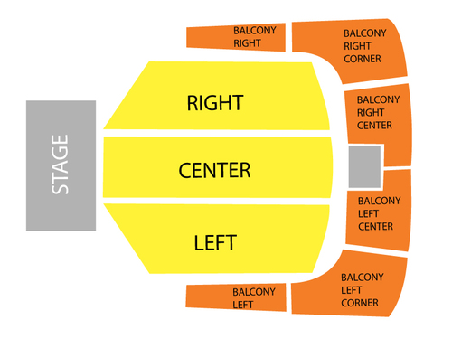 Royce Hall/UCLA Seating Chart