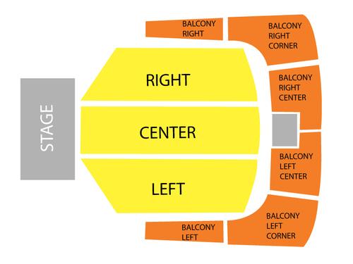Royce Hall - UCLA Seating Chart