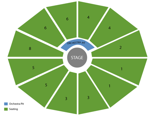 Doobie Brothers Venue Map