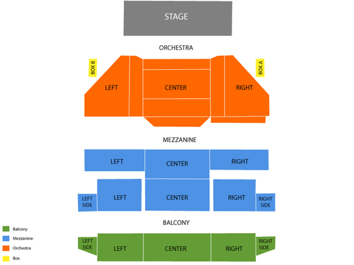 St. James Theatre Seating Chart