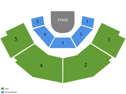 Stage Theatre Seating Chart