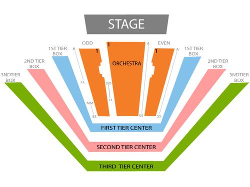 David Geffen Hall Seating Chart