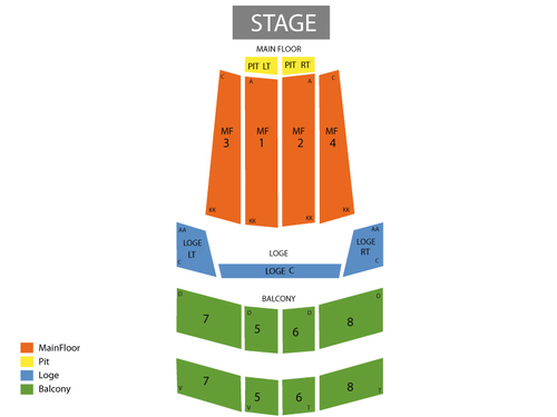 State Theatre (Minneapolis) Seating Chart