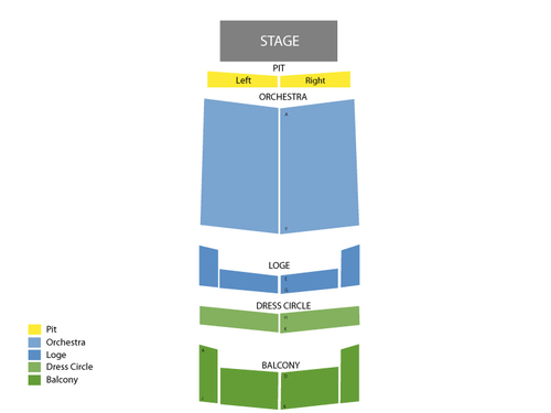 Michael Feinstein Venue Map