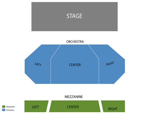 Union Square Theatre Seating Chart