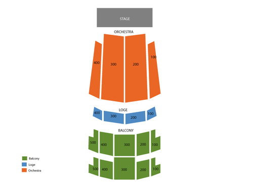 Florida Theatre Jacksonville Seating Chart