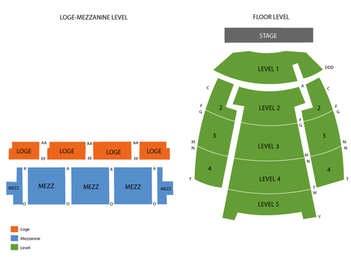Wiltern Theatre Seating Chart