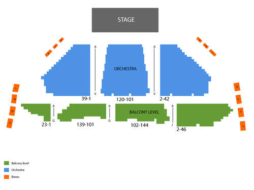 Winter Garden Theatre - Toronto Seating Chart