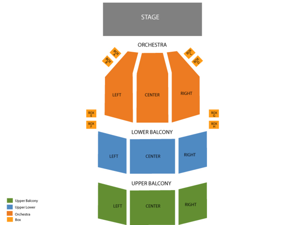 Come From Away Venue Map