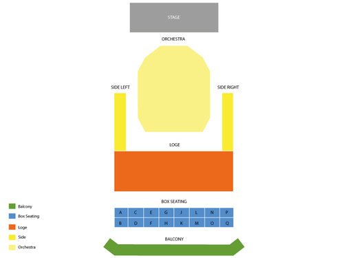 Marcus Center Uihlein Hall Seating Chart