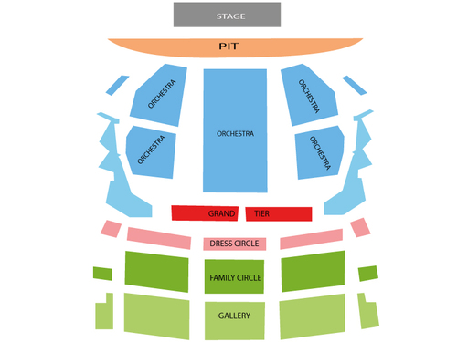Idina Menzel Venue Map