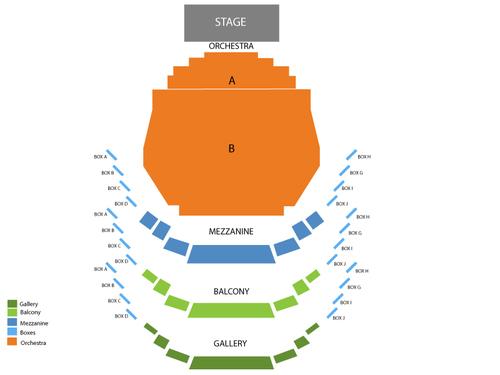 Carol Morsani Hall at Straz Center Seating Chart