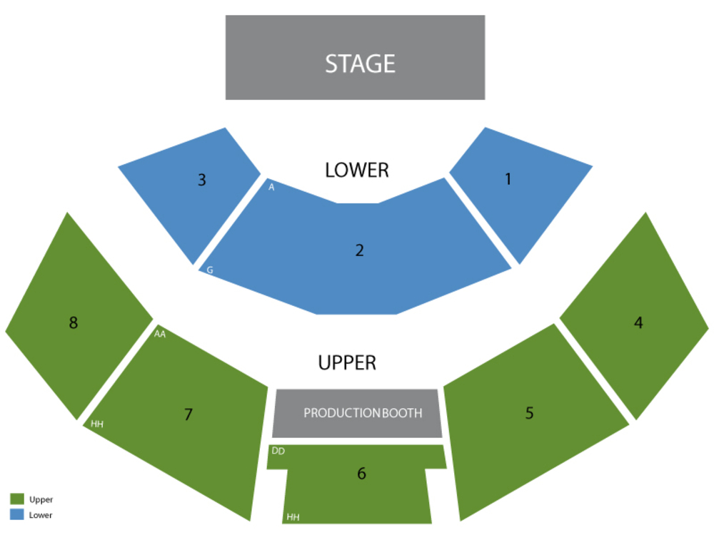 Human Nature Venue Map