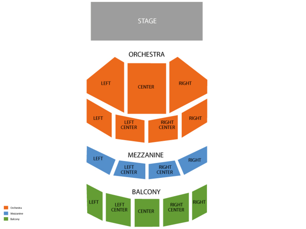 Harry and jeanette weinberg theatre, scranton, pa seating chart.