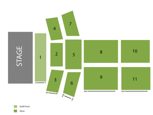 Inn of the Mountain Gods Resort and Casino Seating Chart