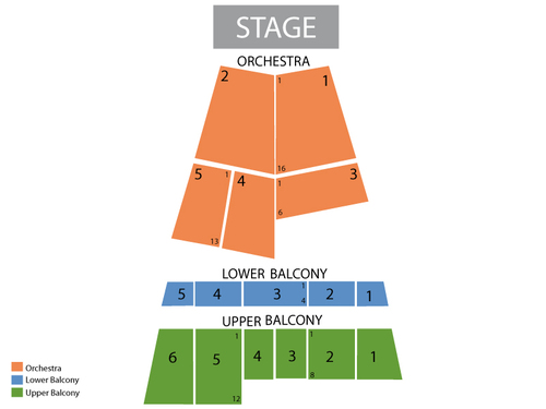 State Theater (Portland - ME) Seating Chart