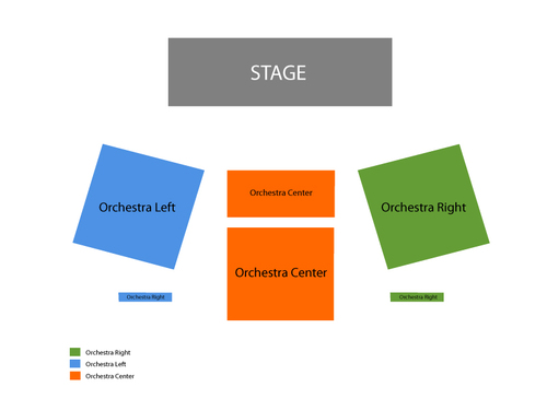Westside Theatre Upstairs Seating Chart