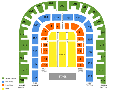 Sacramento Memorial Auditorium Seating Chart