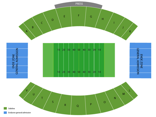 Reese's Senior Bowl Venue Map