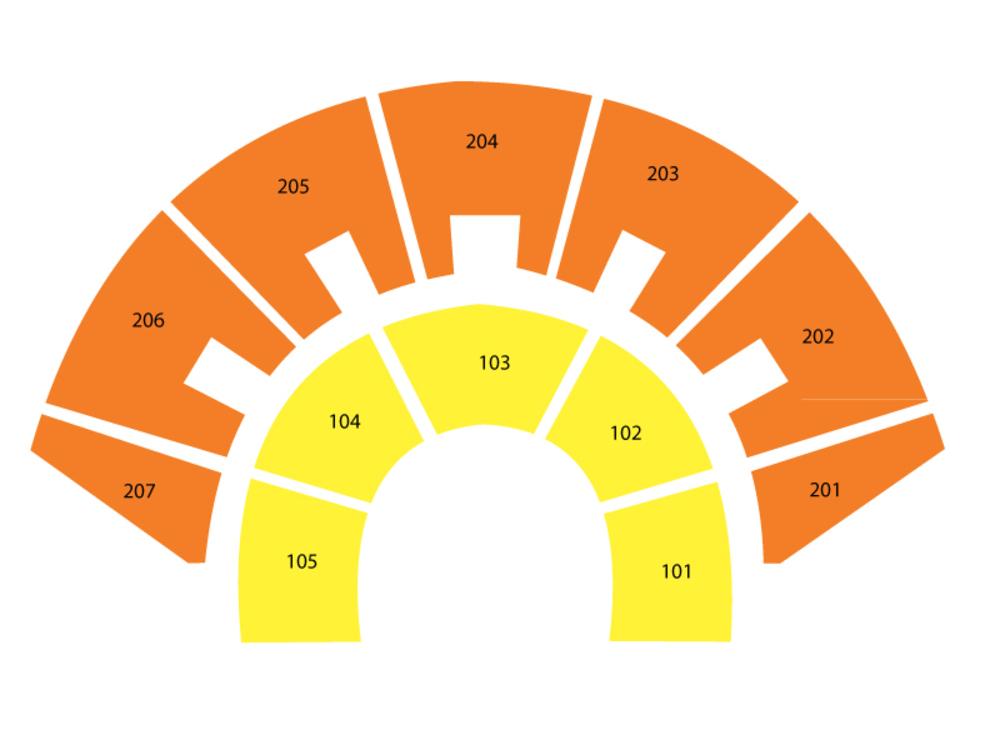 Cirque Du Soleil: La Nouba Venue Map