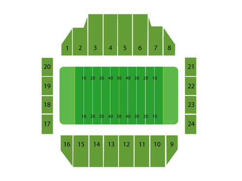 Fawcett Stadium Seating Chart