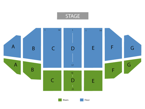 Engelbert Humperdinck Venue Map