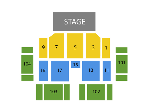 Harveys Outdoor Amphitheatre At Lake Tahoe Seating Chart