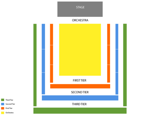 Abravanel hall seating chart events in salt lake city ut
