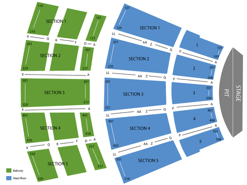 Arie Crown Theater Seating Chart