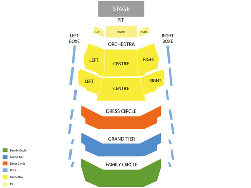 Fox Cities Performing Arts Center Seating Chart