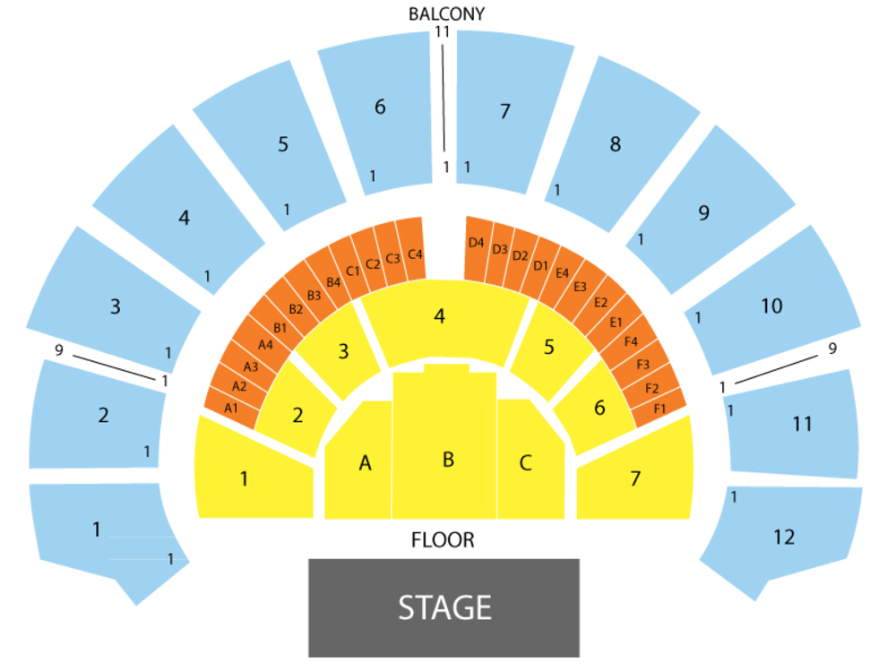 Tegan and Sara Venue Map