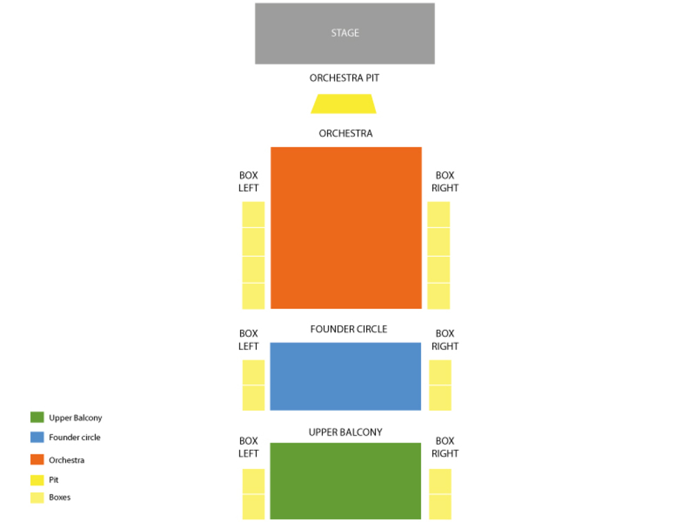 The King and I Venue Map