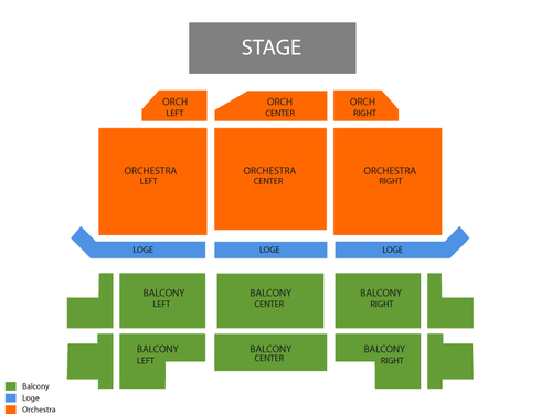 George Lopez (Rescheduled from 5/09/2020 and 07/25/2020) Venue Map