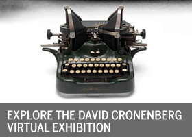 Explore David Cronenberg Virtual Museum