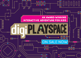 digiPlaySpace: An Interactive adventure, on sale now