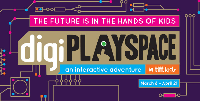 TIFF Kids digiPlaySpace Returns