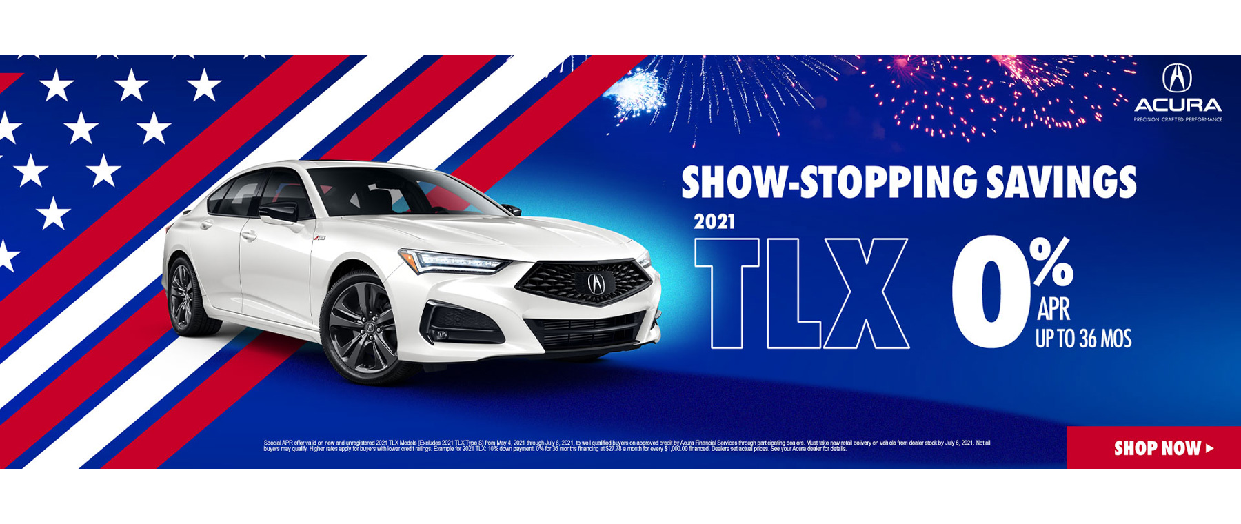 Acura TLX Lease and APR Special