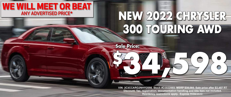 New Chrysler 300S Special