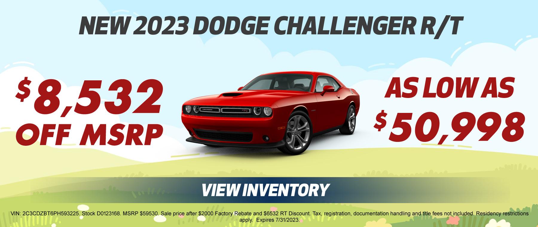 New Dodge Challenger Special