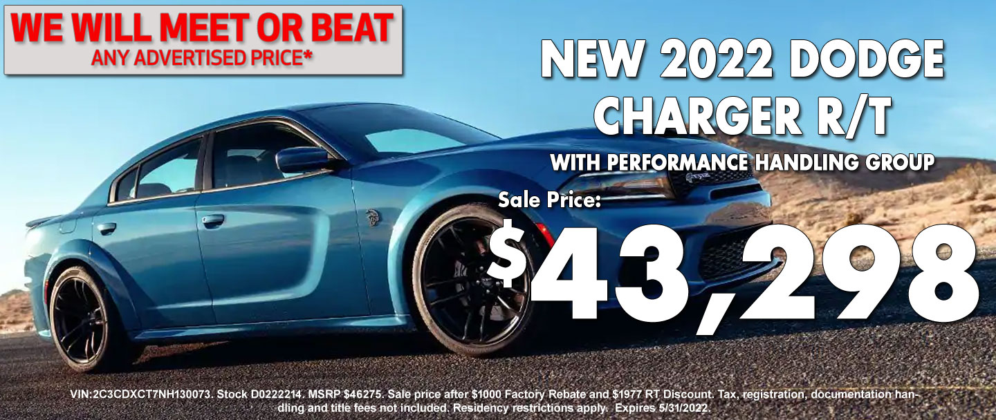 New Dodge Charger Special