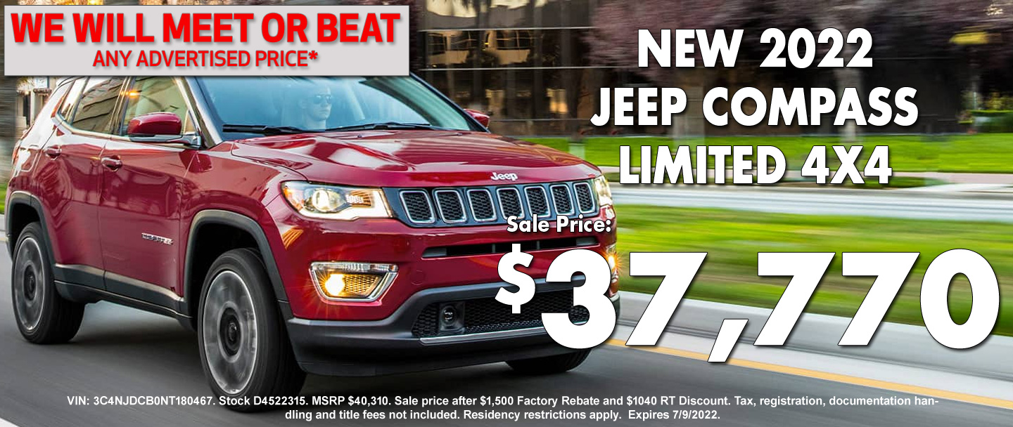 New Jeep Compass Special
