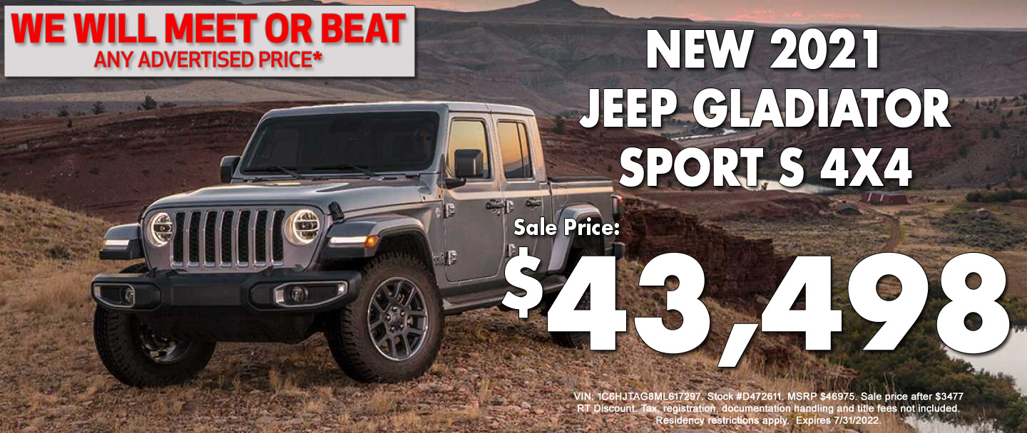 Jeep Gladiator Special