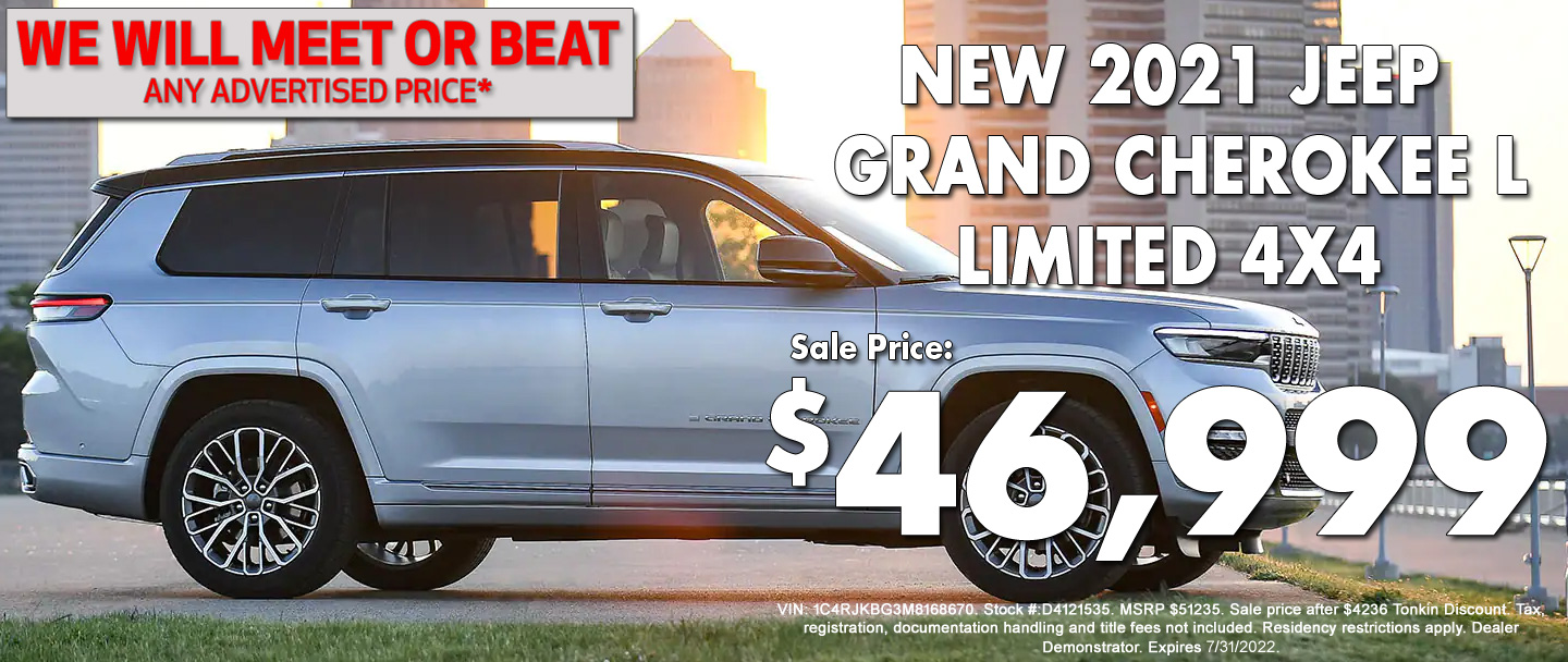 New Jeep Grand Cherokee L Special