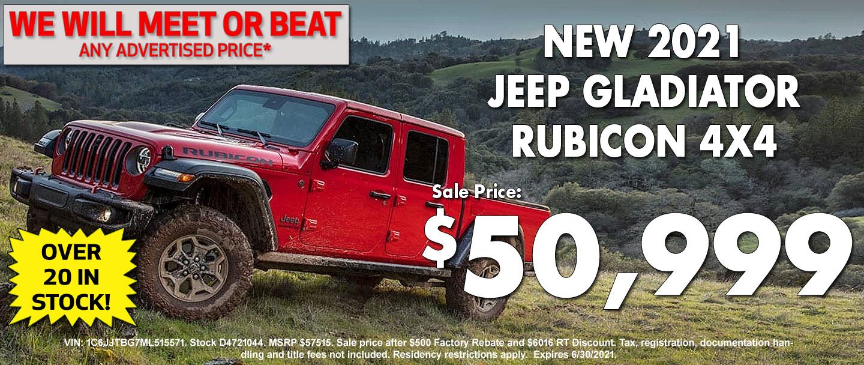 New Jeep Gladiator Special